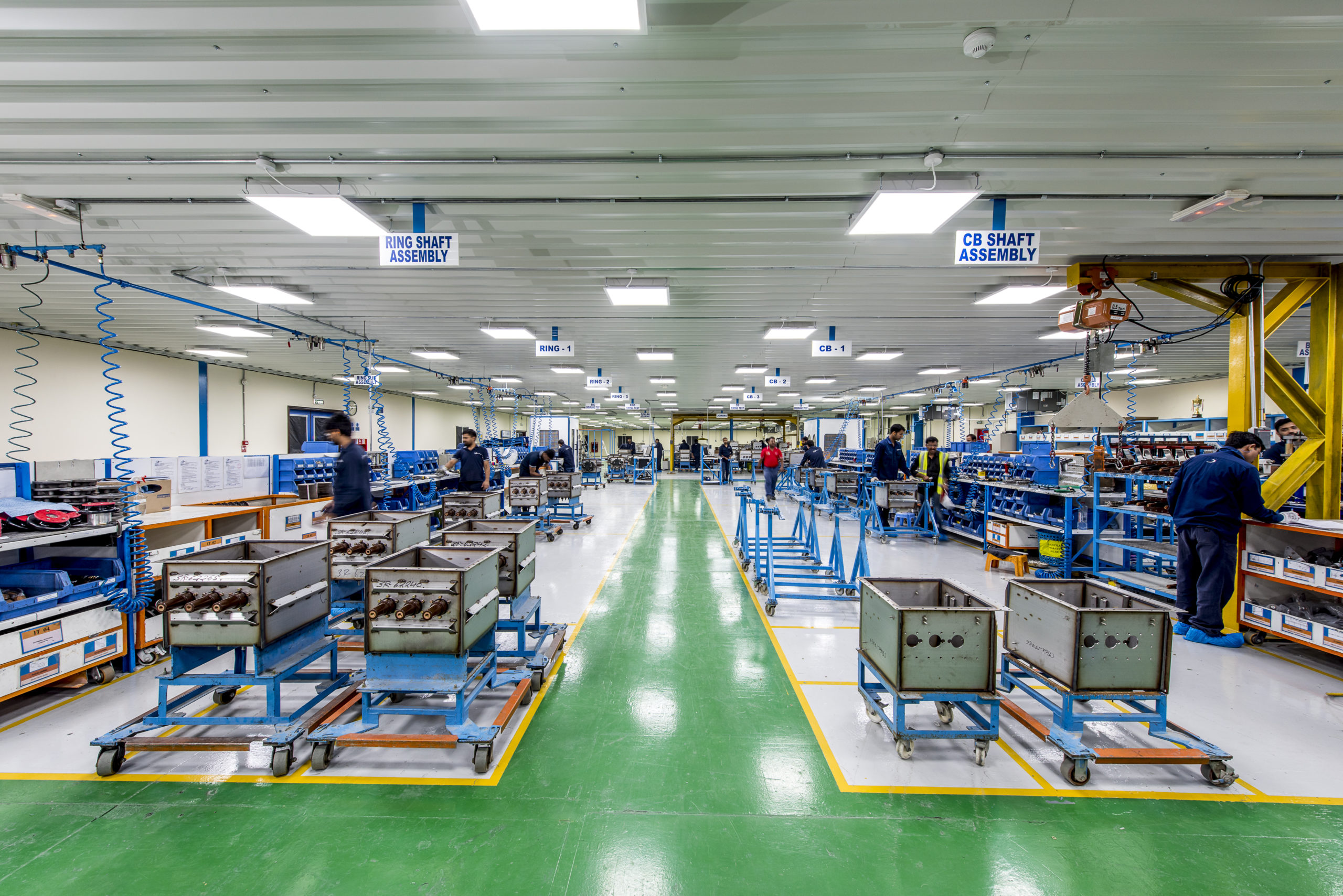 India factory _ production line